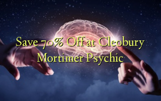 Save 70% Off at Cleobury Mortimer Psychic