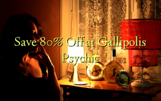 Save 80% Off at Gallipolis Psychic