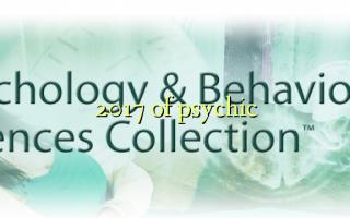 2017 of psychic