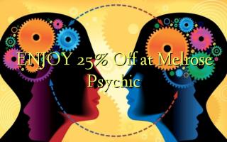 Nyd 25% Off på Melrose Psychic