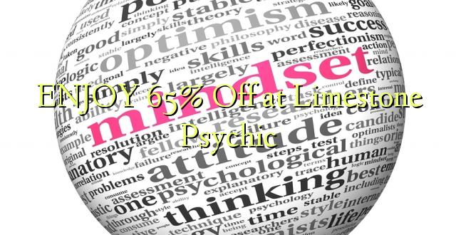 ENJOY 65% Off at Limestone Psychic