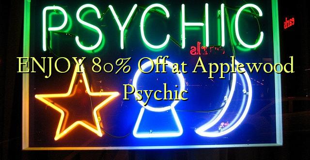 Furahia 80% Toka kwenye Applewood Psychic