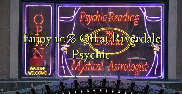 Furahiya 10% Off at Riverdale Psychic