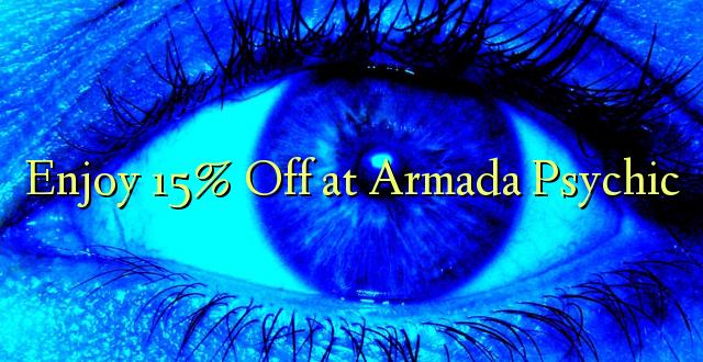 Furahiya 15% Off huko Armada Psychic