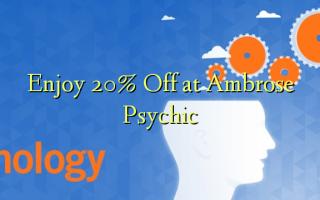 Nyd 20% Off på Ambrose Psychic