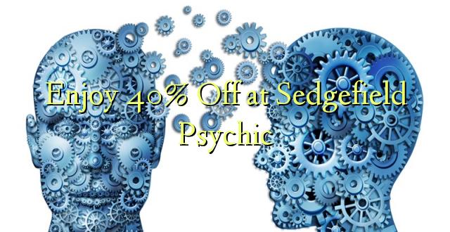 Furahiya 40% Off huko Sedgefield Psychic
