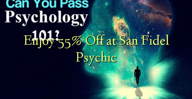 Furahiya 55% Off katika San Fidel Psychic