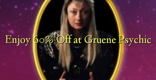 Furahiya 60% Off huko Gruene Psychic