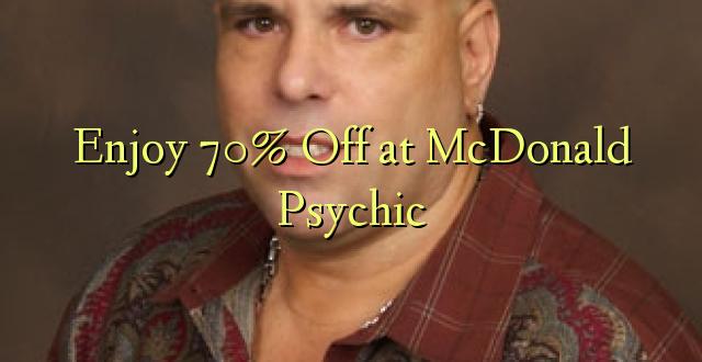 Furahiya 70% Off katika McDonald Psychic