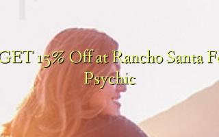 GET 15% Off på Rancho Santa Fe Psychic