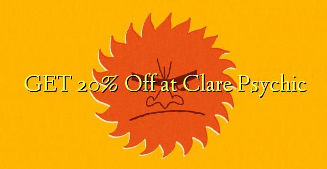 PATA 20% Ola kwa Clare Psychic