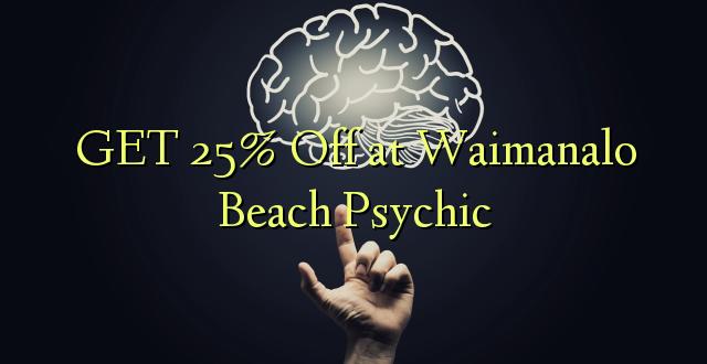 PATA 25% Ole wa Waimanalo Beach Psychic