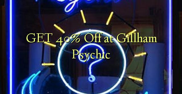 PATA 40% Off huko Gillham Psychic