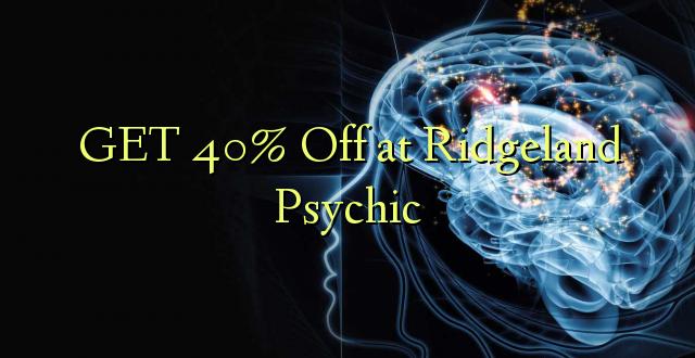 PATA 40% Oka Ridgeland Psychic