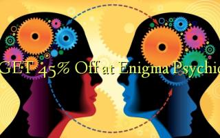 GET 45% Off på Enigma Psychic