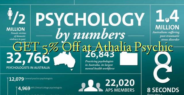 PATA 5% Off at Athalia Psychic