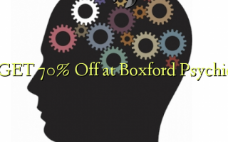 GET 70% Off på Boxford Psychic