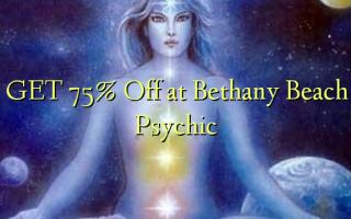 Pata 75% Toka kwenye Bethany Beach Psychic