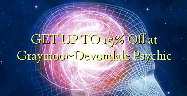 BONYEZA KWA 15% Off katika Graymoor-Devondale Psychic