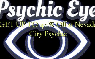 FÅ OP TIL 40% Off på Nevada City Psychic
