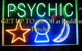 GET UP TO 5% Off at Paulden Psychic