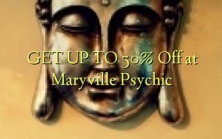 FÅ OP TIL 50% Off på Maryville Psychic
