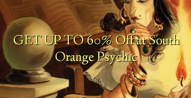 Pata hadi 60% Pungua kwenye Kusini ya Psychic Orange