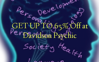 Pata hadi 65% Ondoka kwenye Psychic ya Davidson
