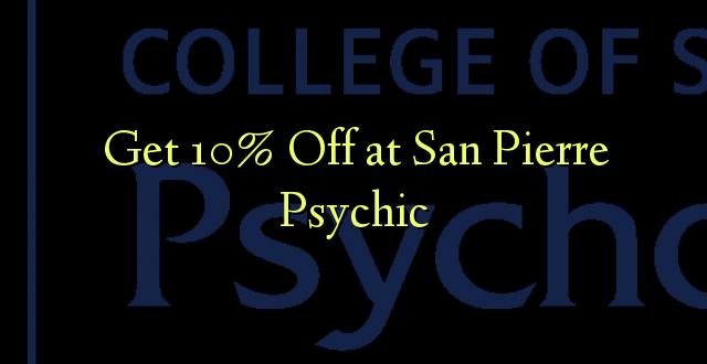 Pumzika 10% huko San Pierre Psychic