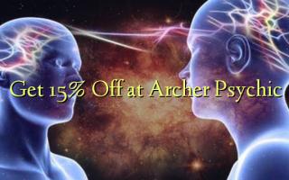 Få 15% Off ved Archer Psychic
