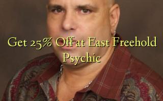 Få 25% Off ved East Freehold Psychic