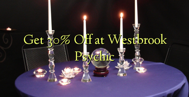 Pata 30% Off at Westbrook Psychic