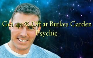 Få 40% Off på Burkes Garden Psychic