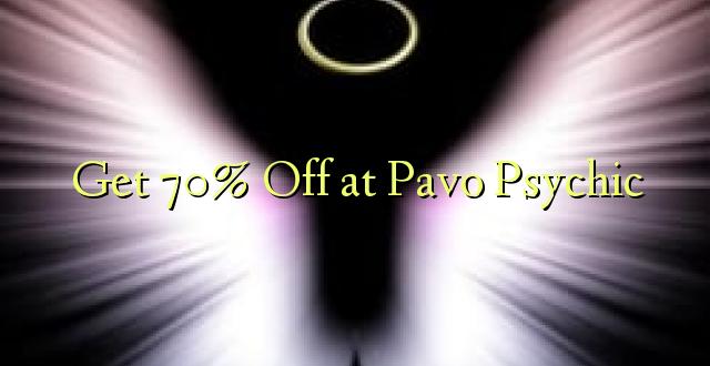 Pumzika 70% huko Pavo Psychic