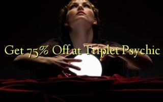 Få 75% Off på Triplet Psychic