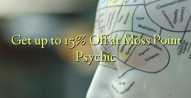 Anuka hadi 15% Off at Moss Point Psychic