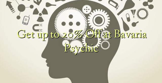 Anuka hadi 20% Off at Bavaria Psychic