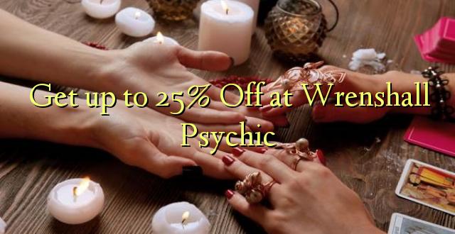 Anuka hadi 25% Off at Wrenshall Psychic