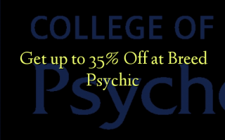 Få op til 35% Off ved Breed Psychic