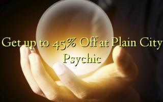 Få op til 45% Off ved Plain City Psychic
