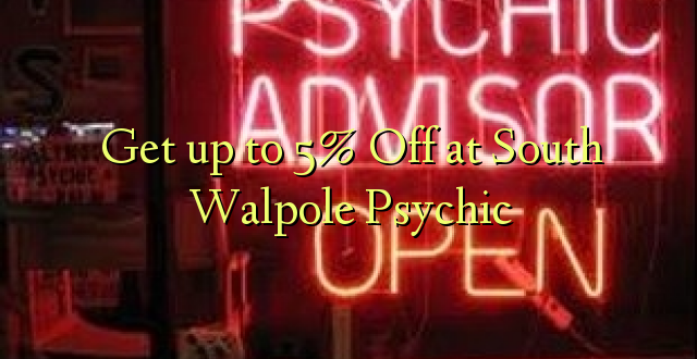 Anuka hadi 5% Off at South Walpole Psychic