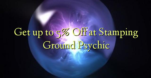 Anuka hadi 5% Off at Stamping Groundic Psychic