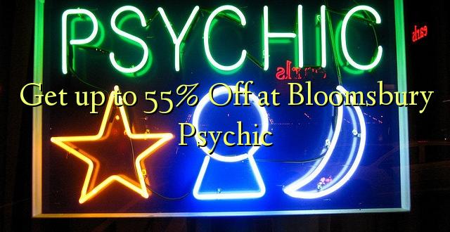Anuka hadi 55% Off katika Bloomsbury Psychic