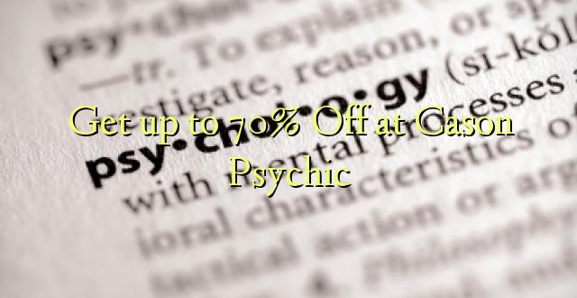 Amka hadi 70% Off at Cason Psychic