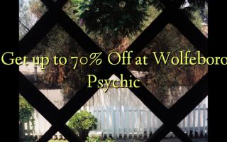 Pata hadi 70% Omba kwenye Wolfeboro Psychic
