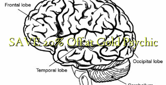 SAA 20% Off at Gold Psychic