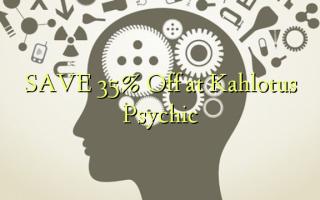 Gem 35% Off ved Kahlotus Psychic