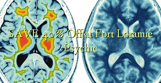 BONYEZA 40% Okoa kwa Fort Loramie Psychic