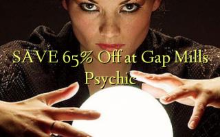 Gem 65% Off ved Gap Mills Psychic