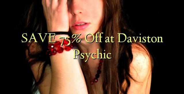 SAA 75% Off at Daviston Psychic
